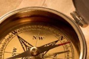 De klok en het kompas